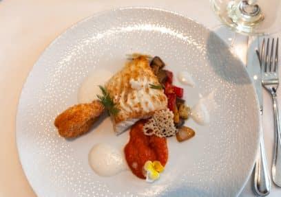 Gourmet Teller mit Fisch bei Oswald