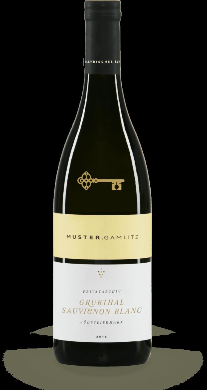 Sauvignon Blanc Grubthal Privatarchiv 2015 Produktfoto