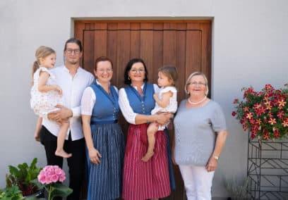 Familie Muster und Gnaser mit Kindern